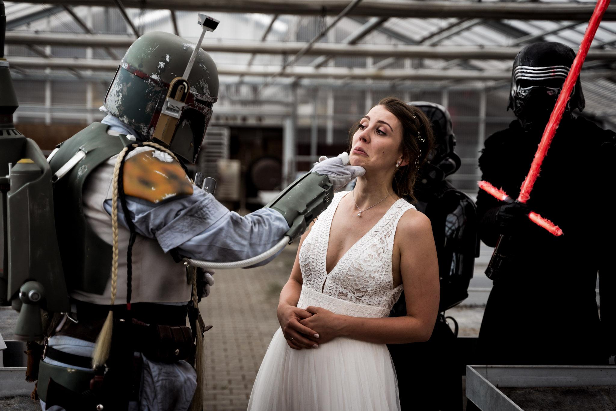 Boho Vintage Hochzeit Star Wars