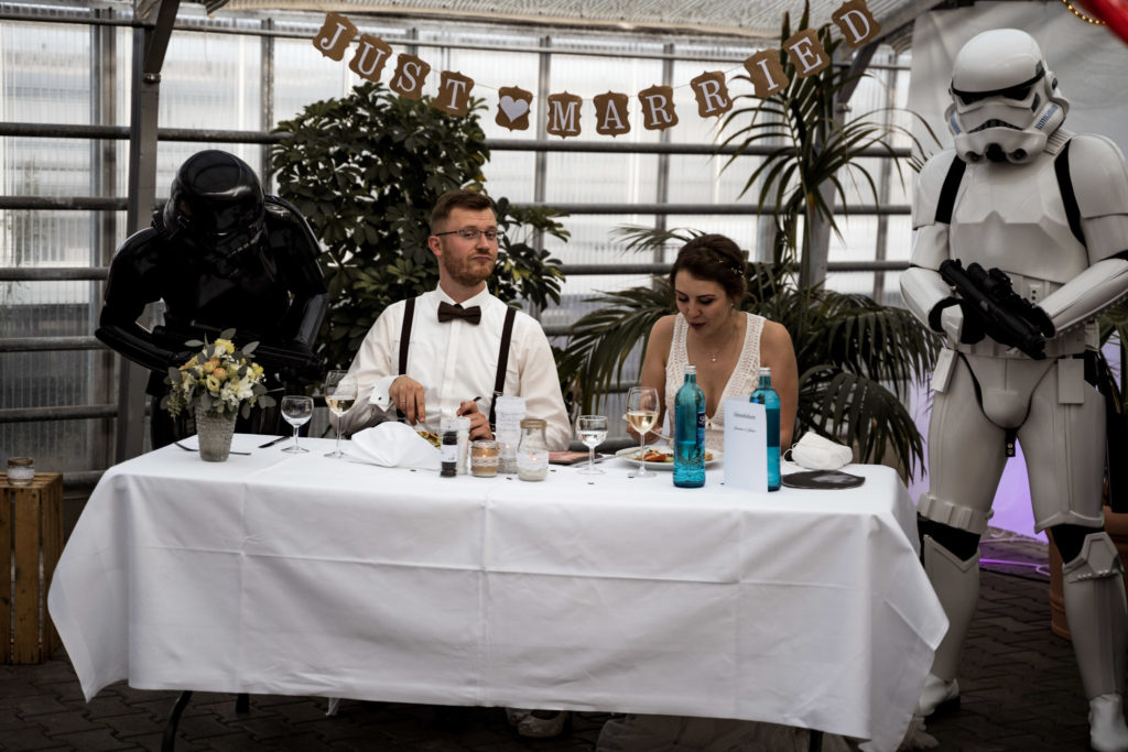 Hochzeitsfotograf Berlin Star Wars Boho