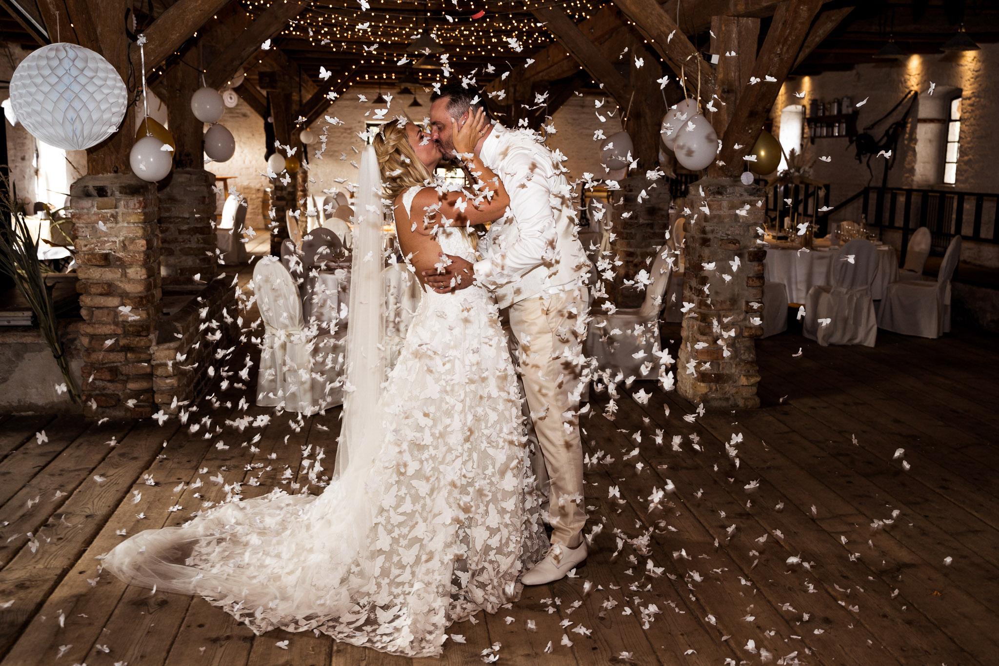 Hochzeitsfotograf Brandenburg Scheune